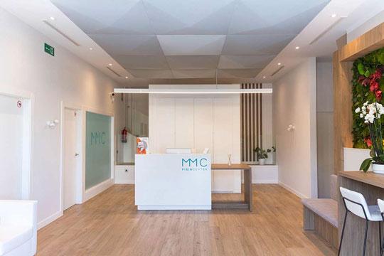MMC Fisiocenter recepción