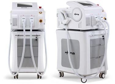 máquina de depilación láser de mmc fisiocenter.
